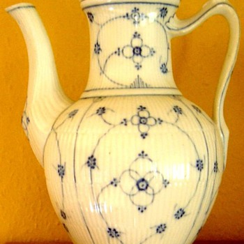 Old Danish China Coffee pots , have been in our family for 3 generations - China and Dinnerware