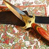 Pakistan Knife $5.00 I was only bidder, and Calvalier Leather Cream from 1950's!