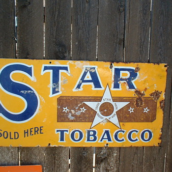 Tobacco Sign - Signs