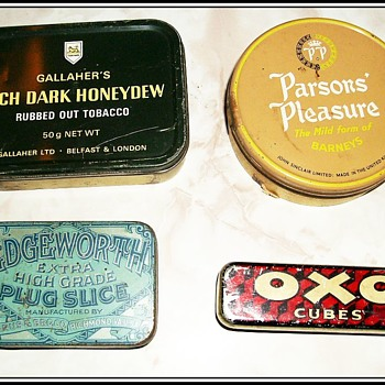 Some other Tobacco Tins ...and an OXO Tin - Advertising