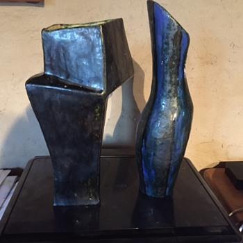 mid century studio pottery