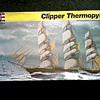 """Revelle"" Ship Model 1:96 Scale (box misprint as 1:70) /"" The Clipper Ship Thermopylae"" Kit #5622/ Circa 1988"