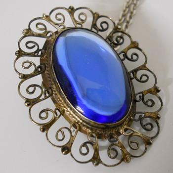 Vintage Brooch/Pendant, Circa 20 century - Fine Jewelry