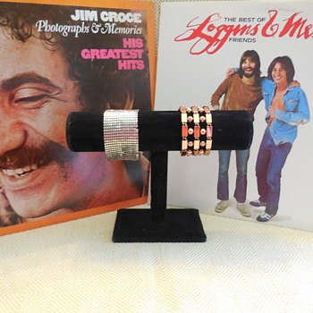 Jim Croce Loggins & Messina Too Checking These Copper & Sterling Bracelets For You - Costume Jewelry
