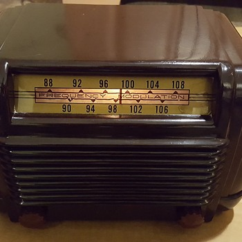 Rare 1947 FADA Model 795 FM Receiver/tuner for your furniture AM radio