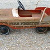 Pedal Car Fire Fighter Unit No. 508