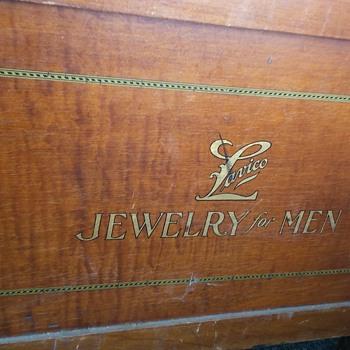 1900s lavico mens jewelry armoir
