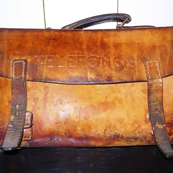 1950s Telephone Repairman's Toolcase