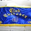 Large Vintage Cherokee Club Banner