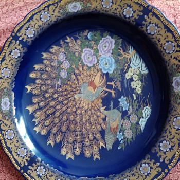 peacock plate - China and Dinnerware