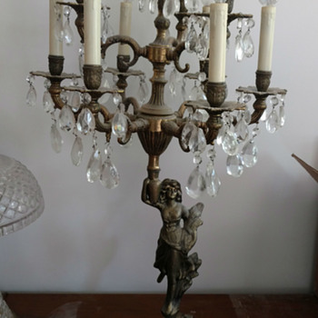 Peasant/Roman Woman 10 Light Chandelier