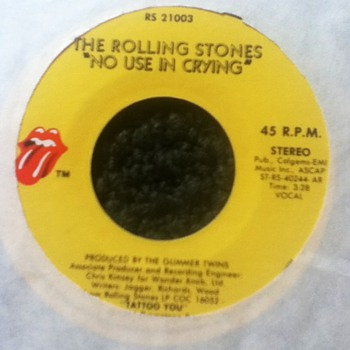 The Rolling Stones 45 Record - Records