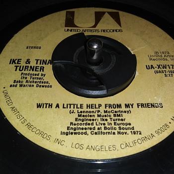 IKE & TINA TURNER - Records