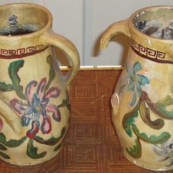 Antique Folk Pottery - Folk Art