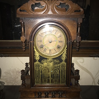 Ansonia mantle clock unknown model - Clocks