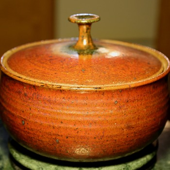 Large Vessel - Signed by who? - Pottery