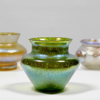 Loetz Miniatures - Art Glass