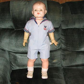 Ideal Toy Company boy doll T-28