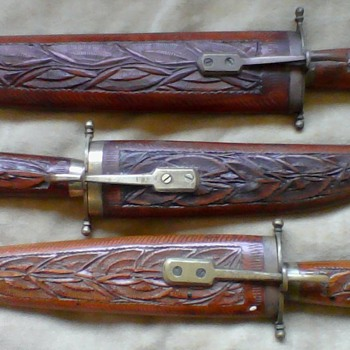India dagger knife collection