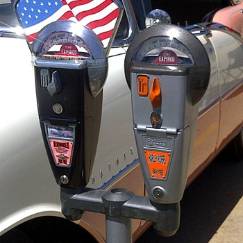 Custom 1950s Duncan-Miller parking meters - Coin Operated