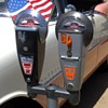 Custom 1950s Duncan-Miller parking meters