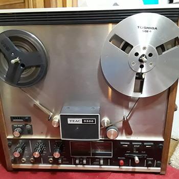 TEAC 3300 open reel tape deck - Electronics
