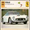 Vintage Car Card - Ferrari Berlinette