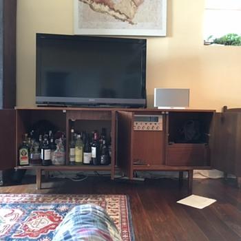 Eero Saarinen custom cabinet -to re-finish or not?