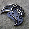 Trifari Tribal Aztec Falcon Brooch Rare