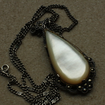 Mother of pearl necklace - Fine Jewelry