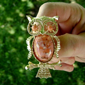 Gerry's Miss Owl Brooch - Animals