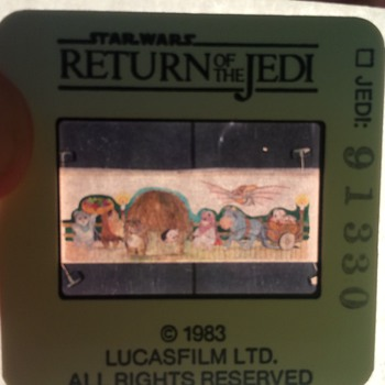 Star Wars movie Slides from 1982