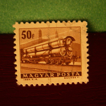 Vintage 50F Magyar (Hungary) Stamp - Stamps