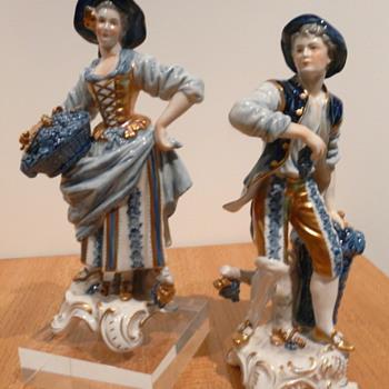 RUDOLF KÄMMER - DIE WINZERIN - Figurines