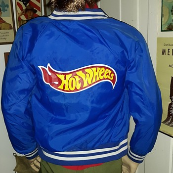 Hot Wheels Wendesday Hot Wheels Jacket Boys Size Large By Taylor Jackets Made in USA - Mens Clothing