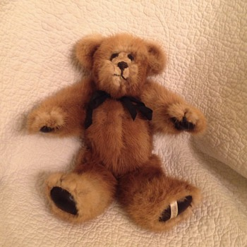 Real Fur Teddy Bear