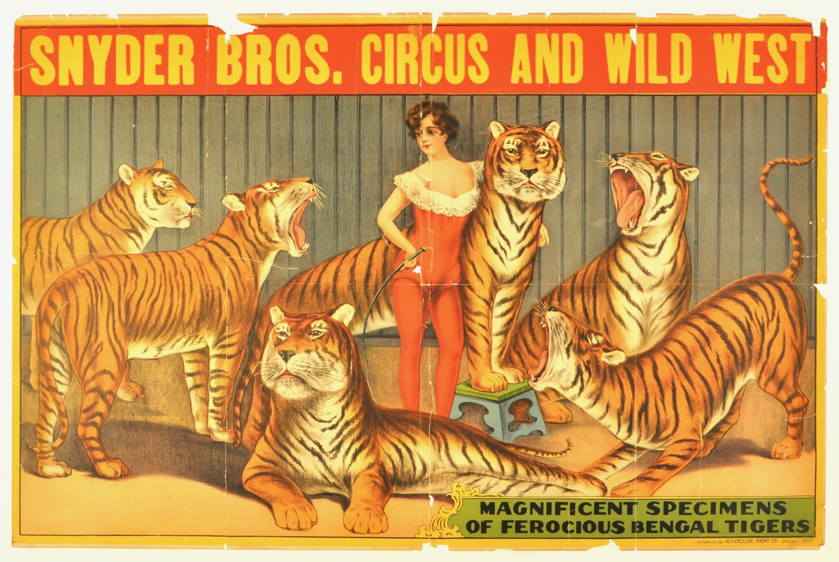 Vintage Circus Prints