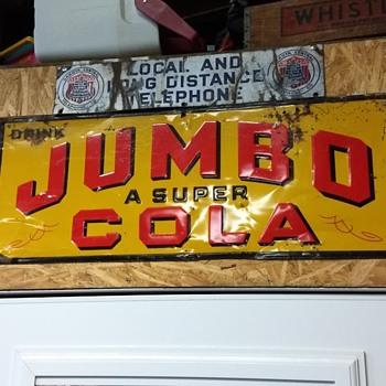 Jumbo Cola Sign - Advertising