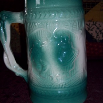 Late 1950's Ceramic Beer Stein
