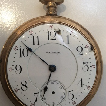 Great Great Grandfathers Waltham Pocket Watch