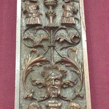 Carved Wood wall hanging German? - Fine Art