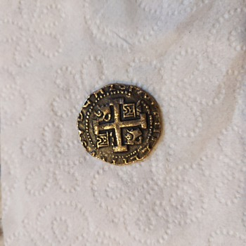 Spanish Gold Coin  - World Coins