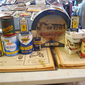 Some new items for the museum - Advertising