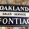 Original Pontiac Oakland sales and service