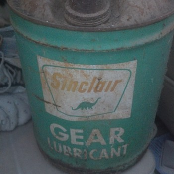 sinclair lubricant 5gal. can