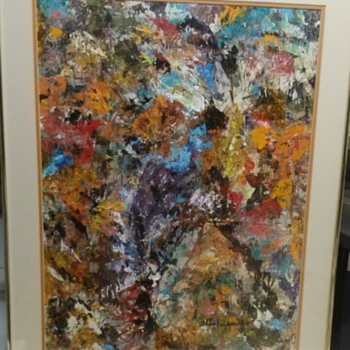 ESTHER FELDMAN COULAGE PAINTING - Fine Art