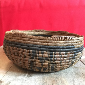 Yavapai Apache Basket circa early 1900 ??? - Native American