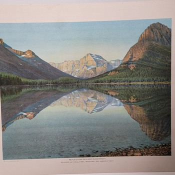 1912 Fred Kiser Prints - Glacier National Park Montana-Part 4 - Posters and Prints