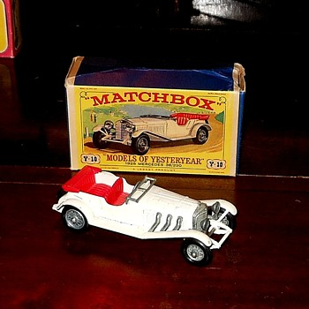 Matchbox Y-10 1928 Mercedes-Benz 36/220 - Model Cars