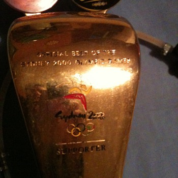 Sydney Olympics 2000, bar taps, embossed. - Breweriana